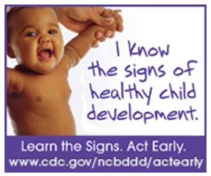 """I know the signs of healthy child development."""